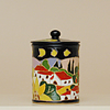 Italian Pottery canister