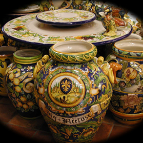 Leoncini italian pottery catalogue